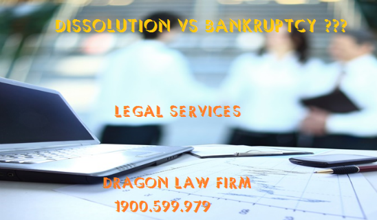 Difference between Dissolution and Bankruptcy