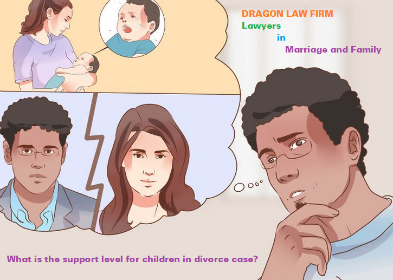 What is support level and methods for divorce case ???