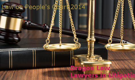Law on Organization of People's Courts 2014