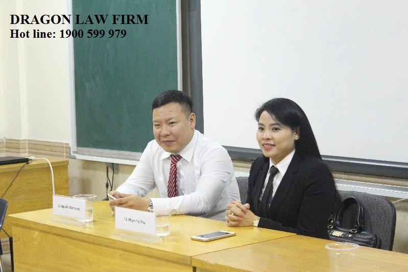 A meeting between Dragon Law Firm with leaders of the Ministry of Industry and Trade
