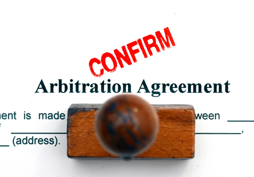 Rules of arbitration