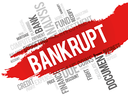 When an enterprise considered bankruptcy